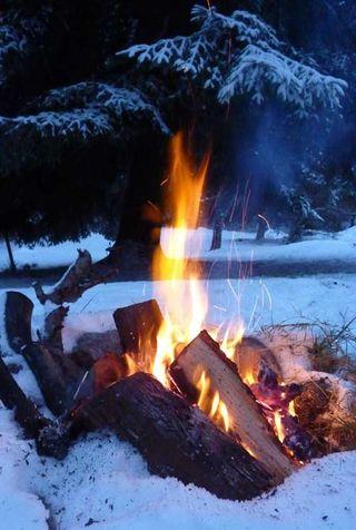 Snow_fire